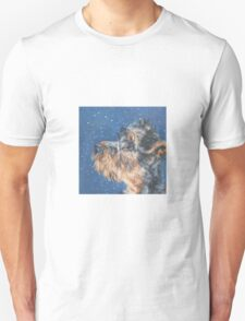 Airedale Fine Art Painting T-Shirt