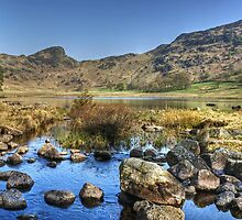 Blea Tarn..Low Water by VoluntaryRanger