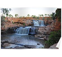 Bindoola Falls on the Gibb River Road. Poster