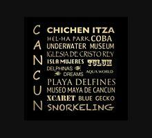 Cancun Famous Landmarks Unisex T-Shirt