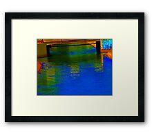 Canal 12 Framed Print