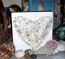 """A """"Love"""" of Buttons by Lynne Kells (earthangel)"""