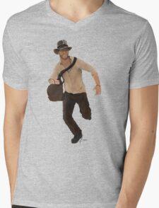 Indiana Jones  Mens V-Neck T-Shirt