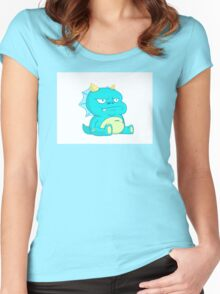 Grumbles The Dragon Guardian Women's Fitted Scoop T-Shirt