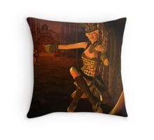 Cirque de Macabre Throw Pillow