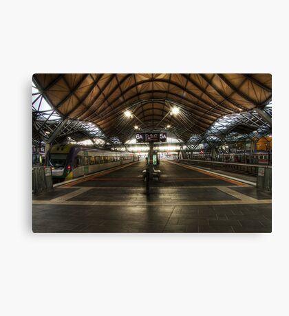 Southern Cross Station  HDR Canvas Print