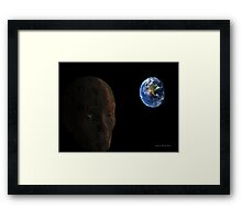 Dieing Planet Framed Print