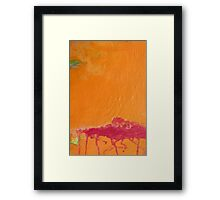 When the Frost Is on the Pumpkin Framed Print