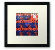 T.Rex Tribute (2) Framed Print