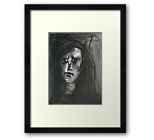 Why Did You Leave Me? Framed Print