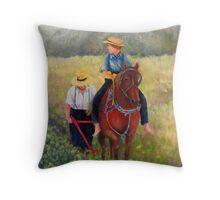 40 Acres Throw Pillow