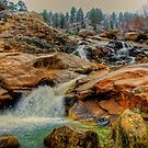 Alluvial Fan Falls - Rocky Mountain Nat'l Park by Mike Capone