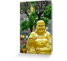 The Buddha Garden Greeting Card