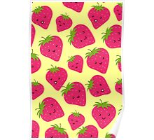 Strawberries Fun Forever! Poster