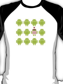 Where's Waldroid? T-Shirt