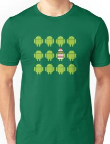 Where's Waldroid? Unisex T-Shirt