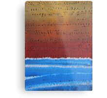 Equatorial original painting Metal Print