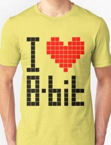 I Love 8-bit <3 T-Shirt