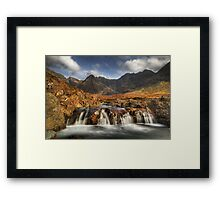 Fairy Pools (4) Framed Print