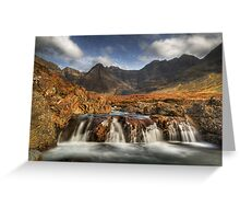 Fairy Pools (4) Greeting Card