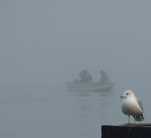 ...it was a very foggy day by Barry W  King