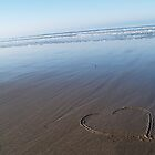 love in the sand by Jodie E