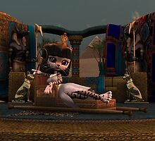 Cleopatra in Recline by Rivendell
