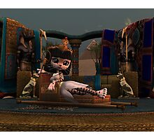 Cleopatra in Recline Photographic Print