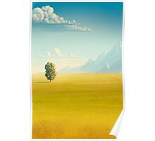 Peaceful valley Poster