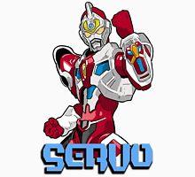 Super Human Samurai Cyber Squad - Servo Unisex T-Shirt