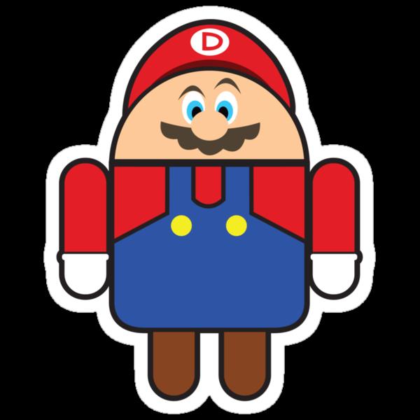 Super Droid Bros. Mario by Keez