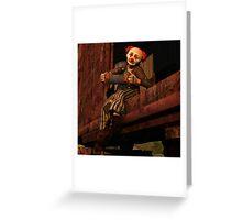 Horatius the Hobo Greeting Card