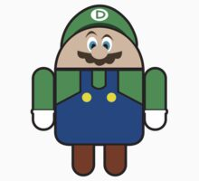 Super Droid Bros. Luigi T-Shirt