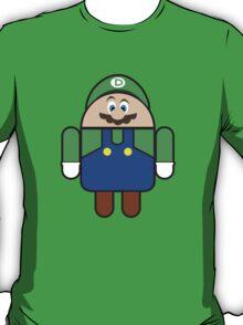 Super Droid Bros. Luigi T-Shirt