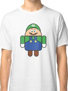 Super Droid Bros. Luigi Classic T-Shirt