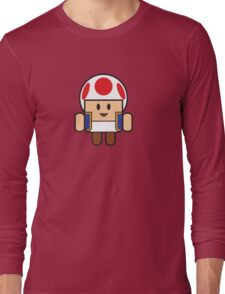 Super Droid Bros. Toad Long Sleeve T-Shirt
