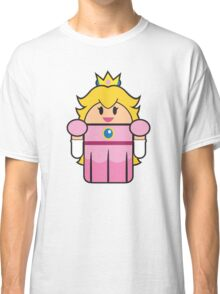 Super Droid Bros. Princess Peach Classic T-Shirt