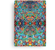 Colorful Atom. Canvas Print