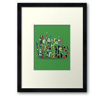 Celebrate your Weirdness Framed Print