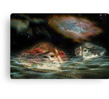 Mask Nebulae Dream Canvas Print