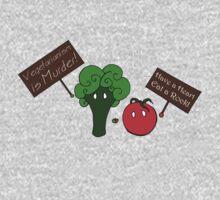 Vegetarianism is Murder Kids Clothes