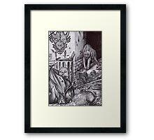 Werewolves - Urban Legend 1 Framed Print