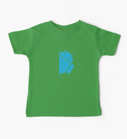 Think with Droids Baby Tee