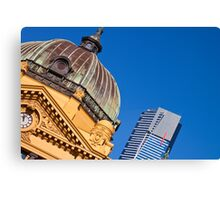 Melbourne Icons Canvas Print