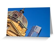 Melbourne Icons Greeting Card