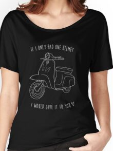 Downtown on a Moped Women's Relaxed Fit T-Shirt
