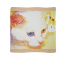 Cat portrait Scarf