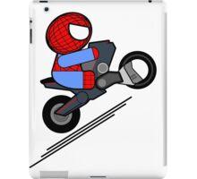 ITSY BITSY SPIDER BIKER iPad Case/Skin