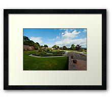 Bodelwyddan Castle Walled Garden Framed Print