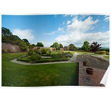Bodelwyddan Castle Walled Garden Poster